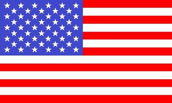 Cómo es la bandera de Estados Unidos