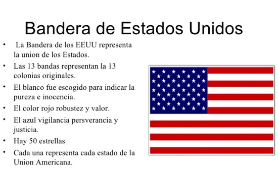 Significado de la bandera de Estados Unidos - Bandera de Estados Unidos