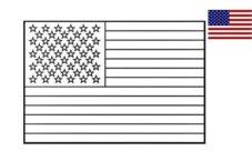 ¿Cómo dibujar la bandera de Estados Unidos?