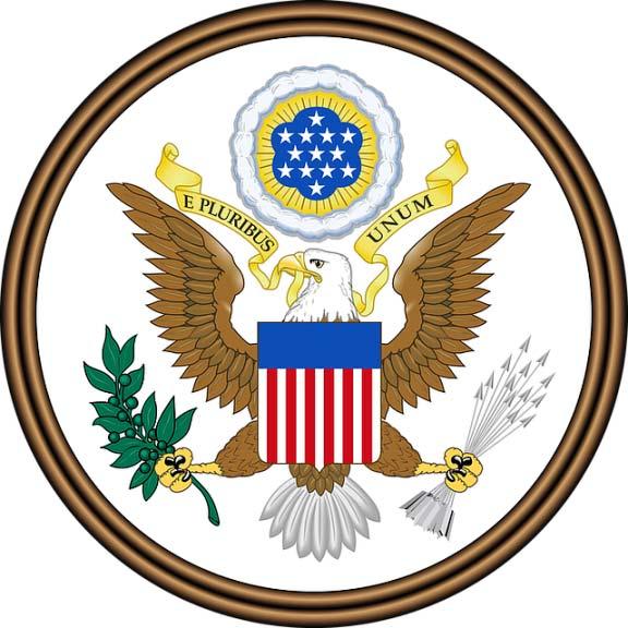 Escudo de Estados Unidos y su significado - Bandera de Estados Unidos